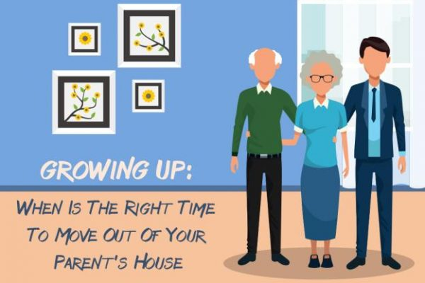 Growing Up: When Is The Right Time To Move Out Of Your Parent's House